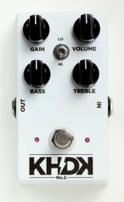 KHDK Electronics No. 2 Handmade Clean Boost pedal