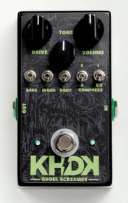 KHDK Electronics Kirk Hammett Signature Ghoul Screamer Overdrive pedal