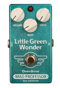 Mad Professor Little Green Wonder Overdrive pedal