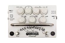 Orange Bax Bangeetar Guitar Preamp / EQ / Overdrive pedal - white