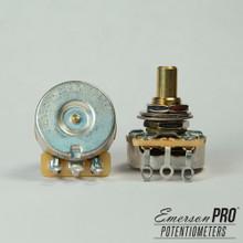 """Emerson Custom 500K Short (3/8"""") Solid Shaft Pot"""