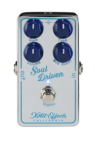 Xotic Effects Soul Driven Boost pedal