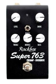 Rockbox Electronics Super 763 Preamp / Overdrive pedal
