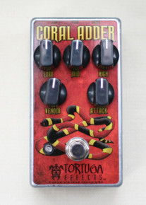 Tortuga Effects Coral Adder British-Stortion pedal