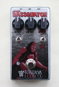 Tortuga Effects Junior Bassquatch Bass Fuzz pedal
