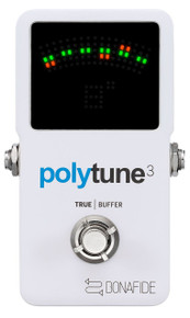TC Electronic Polytune 3 Poly Chromatic Tuner w/ buffer