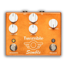 Mad Professor Twimble Overdrive / Preamp dual pedal