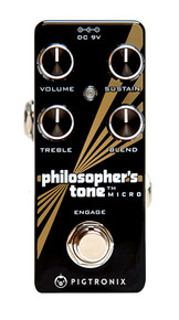 Pigtronix Philosophers Tone Micro Compressor pedal