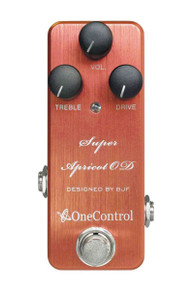 One Control BJF Super Apricot Overdrive pedal