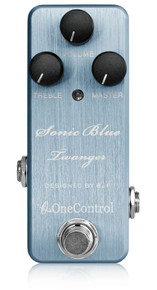 One Control BJF Sonic Blue Twanger Distortion pedal