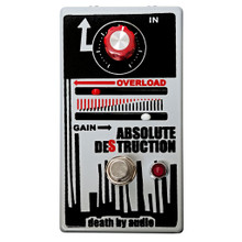 Death By Audio Absolute Destruction Fuzz pedal