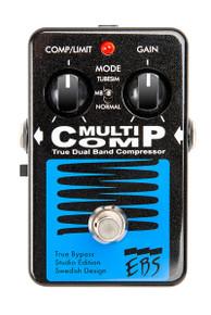 EBS MultiComp Black Label Studio Edition - True Dual Band Compressor