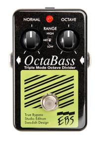 EBS OctaBass Black Label Studio Edition Octave Divider