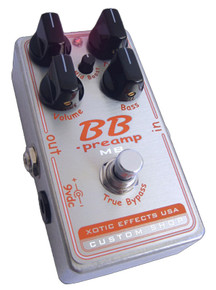 Xotic Effects Custom Shop BB Pre-amp with Mid-Boost Knob BB-MB