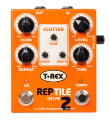T-Rex Reptile 2 Analog Modulating Delay with Tap Tempo