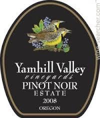 Yamhill Valley Pinot Noir Estate (Willamette Valley, Oregon)
