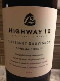 Highway 12 Sonoma Valley Cabernet Sauvignon