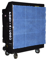 "Portacool Filter System for 48"" Fan Models - PAC-FRAME-48"