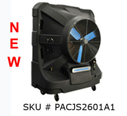 "NEW 36"" Portacool Jetstream™ 260 Portable Evaporative Cooler - PACJS2601A1 - 12,500 CFM - 3,125 sq. ft."