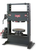 Dake 33-587 150 Ton Air Powered Hydraulic Forklift Tire Press