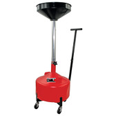 AFF 8870 8 Gallon Waste Oil Drain w/Metal Trolley