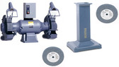 """1217W 12"""" Grinder with GA20 Pedestal and Wheels Package"""
