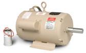 Baldor UCLE7510 7.5-10 HP 3450 RPM Single Phase TEAO Grain Dryer Vane Axial Fan Motor