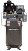 Industrial Gold CI7523E80H-P Platinum Series 7.5 HP 3 Phase Horizontal Tank Air Compressor