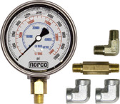 Norco Hydraulic Gauge with Fittings