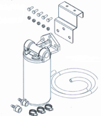 FOUNTAIN INDUSTRIES MLF4800-7 SPIN ON CANISTER FILTER KITS
