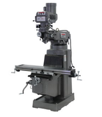 JET 690256 JTM-1050 Mill with 3 Axis ACU-RITE 200S DRO (Knee) and X and Y-Axis Powerfeed, 3HP, 3Ph