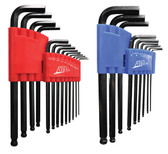 ATD 580 22 Pc. SAE & Metric Long Arm Ball End Hex Key Set