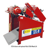 SSG STE-M Tire Siper Machine | Shown with optional Wheel Lift (Sold Separately)