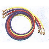 """Robinair 39072A 3 pc. Set of 1/4"""" 72"""" Charging Hoses w/Quick Seal Fittings"""