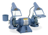 "Baldor 7"" Deluxe Grinder, 1,800 RPM, Cast Iron Tool Rest, Exhaust Type"