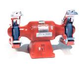 """Baldor 8"""" Grinder, 3,600 RPM, Cast Iron Tool Rest, Exhaust Type"""