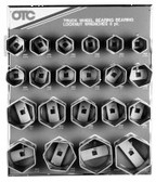 OTC 9850 Truck Wheel Bearing Locknut Sockets