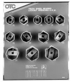 OTC 9852 Truck Wheel Bearing Locknut Sockets