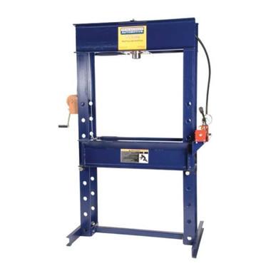"Hein-Werner HW93412 55 Ton Rolling Head Electric Shop Press 6"" Stroke"