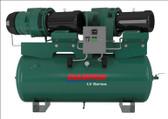 Champion LV04PDRHS-12 5 HP 120 Gal, Duplex, Horizontal Tank