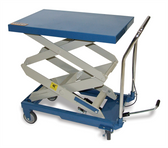 Baileigh Industrial B-CARTX2 Double Height Hydraulic Lifting Cart