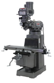 JET 690160 JTM-1050 Mill with 3 Axis ACU-RITE 200S DRO (Quill) and X, Y and Z-Axis Powerfeed, 3HP, 3Ph