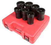 Sunex 4667 Truck Pinion Locknut Impact Socket Set