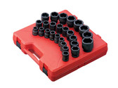 "Sunex 3/4"" Drive Metric Impact Socket Set"