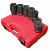 "Sunex 5697M 1"" Dr. 7 Pc. Metric Deep Impact Socket Set"