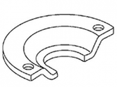 OTC 303-456 WATER PUMP PULLEY REMOVER PLAT