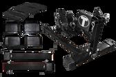Titan WC-1500X-KIT Wheel Chock Kit | Black