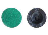 "ATD 89250 2"" Green Zirconia 50 Grit Grinding Disc (25 Pack)"