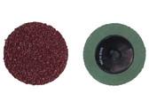 "ATD 87224 2""-24 Grit Aluminum Oxide Mini Grinding Discs"