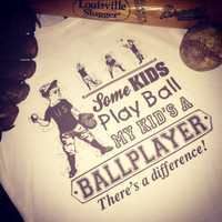 The Ballplayer Difference Baseball Tee